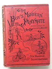The Boy's Modern Playmate A Book of Games, Sports and Pastimes J.G. Wood - 1890