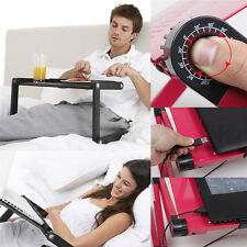 Flexible 360° Folding Laptop Bed Desk Vented Stand Sofa Tray Notebook PC Table