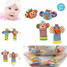 Infant Baby Cute Animal Wrist Foot Sock Rattles Developmental Toys Finders - LD