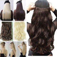 Long Real Natural Hair Extensions Clip in on Hair Extension 100% Real Sexy Color