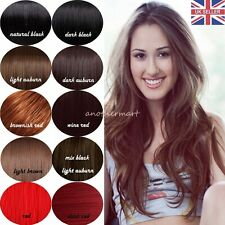 """Mega Thick 23-28"""" 3/4 Wig Fall Real Heat Resistant Full Head Hair Half Wigs PW67"""