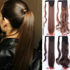 us sale blonde Clip In Ponytail Pony Tail Hair Extension Wrap On Hair piece TERE