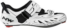 Northwave Tribute Mens Triathlon Cycling Shoe, Whi Size Euro 46 brand new in box