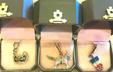 NWOT JUICY COUTURE CHARMS!! HTF!! RETIRED AND RARE!!