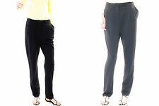 NWT TORN BY RONNY KOBO Black Rivi Double Pleated Tapered Full Dress Pants $218