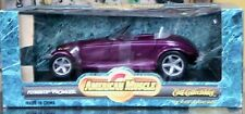 AMERICAN MUSCLE PLYMOUTH PROWLER CHRYSLER ERTL DIECAST METAL COLLECTABLE