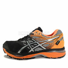 Asics GEL-Cumulus 18 G-TX [T6D3N-9093] Running Black/Silver-Orange