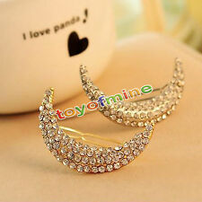 Lovely Crystal Rhinestone Bridal Hair Barrette Clip Hairpin Girl Jewelry