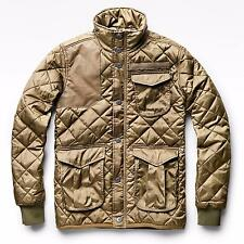 G-STAR RAW QUILTED JACKET BEIGE MENS NEW SIZE S / SIZE M / SIZE L