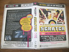 Scratch - All The Way Live (DVD, 2005) All Regions Music DVD Rated M - VGC