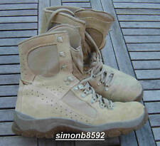 UK BRITISH ARMY SURPLUS MEINDL DESERT FOX BOOT,TAN SUEDE LEATHER,COMBAT BOOTS