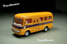 """Hong Kong Diecast 3.5"""" School Private Light Bus Pull Back Action Loose"""