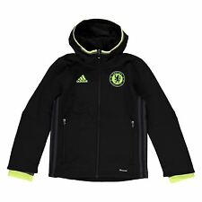 Adidas Chelsea FC Pre Match Jacket Juniors Football Soccer Tracksuit Track Top