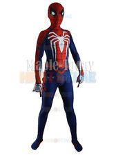 Insomniac Spider-man Costume PS4 Game Spiderman Halloween Cosplay Mask Jumpsuit