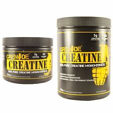Grenade Essentials 250g or 500g 100% Pure Creatine Monohydrate Powder