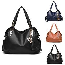 Fashion Women Faux Leather Satchel Handbag Shoulder Tote Messenger Crossbody Bag