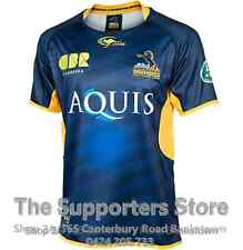 ACT Brumbies 2016 Home Jersey Sizes S-3XL! Official Super Rugby!