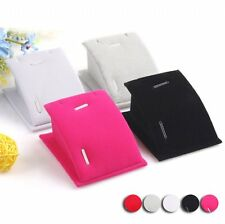 Hot Women Jewelry Pendant Drop Display Holder Stand Hot Velvet Chain Necklace