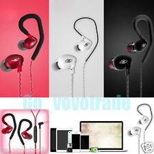 HiFi 3.5mm SPORT Earphone Bass With Mic Stereo Headset for iPhone 6/6S/7 Samsung