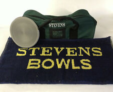 Stevens Bowls Gift Set (2 Bowl and Jack Bag,Stevens Towel, Footer Mat)