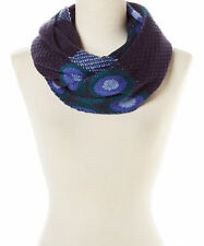 Women Winter Soft Chunky Circle Abstract Knit Circle Loop Infinity Cowl Scarf