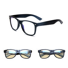Men's Women Clear Lens Glasses Square Frame Vintage Retro Fashion Unisex Glasses