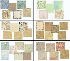 K&Company 12x12 Scrapbook Papers - Choose Various Sets 5/6/7 Sheets