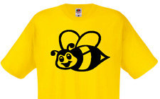 Bumble Bee Funny Mens or Lady Fit T Shirt T-Shirt Funny Gift