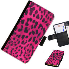 SKIN04 ANIMAL PRINT PRINTED LEATHER WALLET/FLIP PHONE CASE COVER FOR ALL MODELS