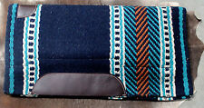 Wool Western Show Horse Trail SADDLE PAD Rodeo Blanket Tack  38103
