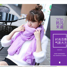 Ladies womens 20 colors long soft cotton Scarf Wrap Shawl scarves fashion stole