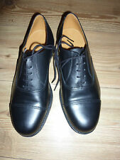 RAF/ARMY MENS BLACK LEATHER PARADE SHOES VARIOUS SIZES BRITISH MILITARY ISSUE