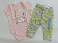 NWT Baby Gap Girls 3-6 or 6-12 Months Lemonade Stand Shirt Lemon Leggings Set