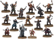 GW Lord of the Rings Hobbit SBG Thorin's Company *New & Unpainted* - Fast Post