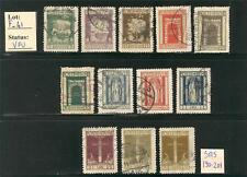 """F_41. FIUME.1923 """"SAN VITO AND OTHER SUBJECTS"""" set. VFU"""