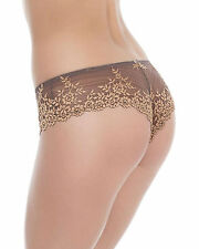Wacoal Embrace Lace Tanga Brief Knickers * Cappuccino 848191 * New Sexy Lingerie