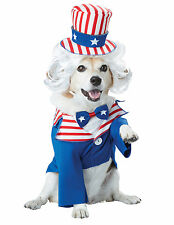 Uncle Sam USA Patriotic July 4th Dog Pet Costume