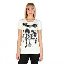 Love Moschino Clothing Women T-shirts White 74794 Outlet BDX