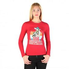 Love Moschino Clothing Women T-shirts Red 74787 Outlet BDX
