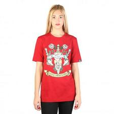 Love Moschino Clothing Women T-shirts Red 74769 Outlet BDX