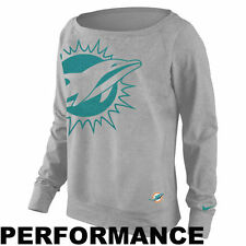 NWT- Ladies NFL Miami Dolphins Dri-Fit Epic Wildcard Shirt-Retails $65!