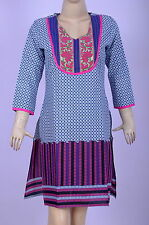 Indian Bollywood Designer Kurti Cotton Tunic Top Sexy Ethnic Casual Wear Kurta