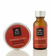 Frankincense & Rose Exfoliating Facial Scrub