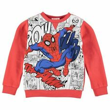 Character Childrens Sweater Boys Jumper Crew Neck Long Sleeve Pattern Clothing
