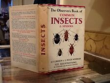 Observers Book Of Insects & Spiders 1956