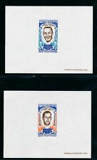 D99777 Space Astronauts Grissom White Set of Imperf Deluxe Sheets Mauritania MNH