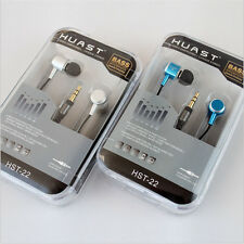 3.5mm In-Ear Earbud Mic Stereo Earphone Headset Headphone for iPhone for Samsung