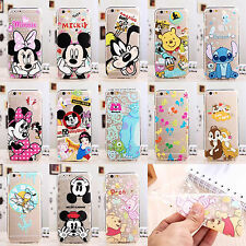 New Ultra Thin Cute Cartoon Soft TPU Crystal Clear Case Cover for iPhone 7 8Plus