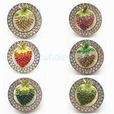 Handbag Hook Rhinestone Hanger Holder Folding Strawberry Purse Decor 6 Colors