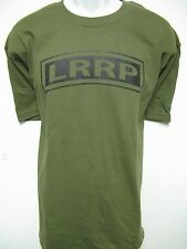 U.S. ARMY LRRP T-SHIRT/ LONG RANGE RECON PLT/ MILITARY/ VETERAN T-SHIRT/  NEW
